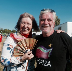 The author meets Maddy Prior, 2016